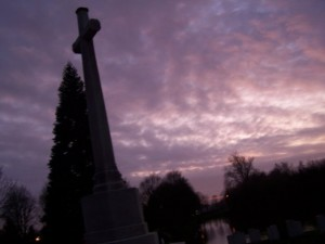 A WWI graveyard in Ypres/Ieper. Photo ©K Diab and K Maes