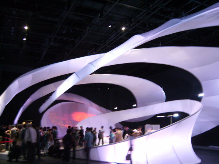 Egypt's pavillion at the Shanghai Expo