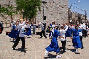 Horah dance on Jerusalem Day