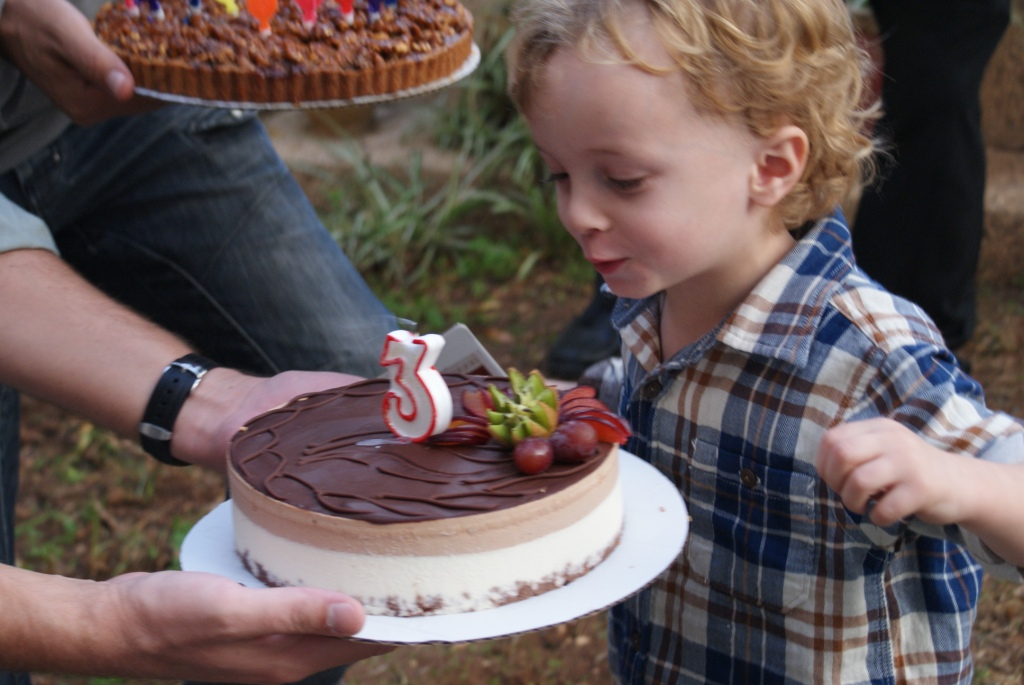 In any normal context, a toddlers third birthday party should be a simple, even mundane affair.  Photo:Katleen Maes