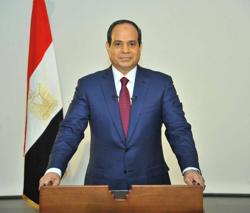 Image: al-Sisi's official Facebook page.