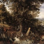 The Garden of Eden by Jan Brueghel.