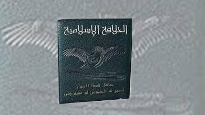ISIS have reportedly issued a passport. The holder cannot use it to travel anywhere in the real world, but it can transport him/her back to an era which never existed.