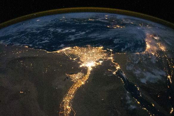 Save the Nile Delta. Image: NASA