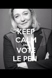 Le Pen is mightier than the sword... of Islam.