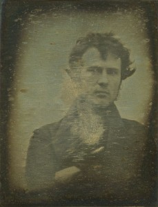 This self-portrait of Robert Cornelius could be the world's first photographic selfie.