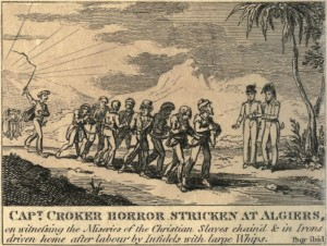 European slaves in 19th-century Algiers.