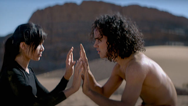 A scene from Desert Dancer, a fictionalised account of an underground dance company in Iran.