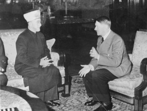 Amin al Husseini with Adolf Hitler