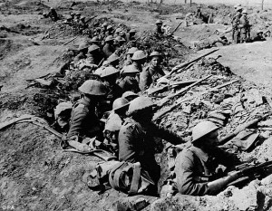 The first day of the Battle of the Somme, one of the deadliest clashes in human history.