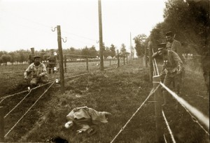 The Wire of Death's deadly innovation claimed hundreds of Belgian victims. Source: http://www.dodendraad.org/index.php/wire-of-death