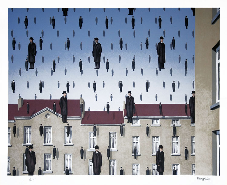 magritte golconde